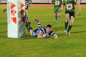 Jack McCarthy scores his 4th try in 3 games